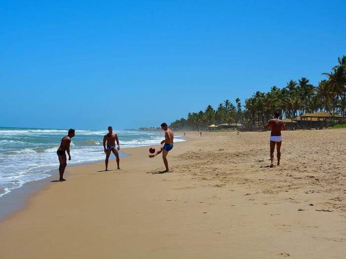 wertsachen am strand