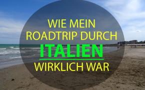roadtrip durch italien