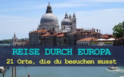 reise durch europa