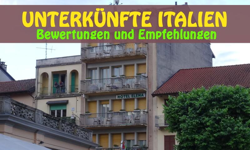 unterkünfte italien
