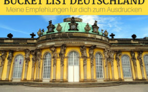 Bucket List Deutschland