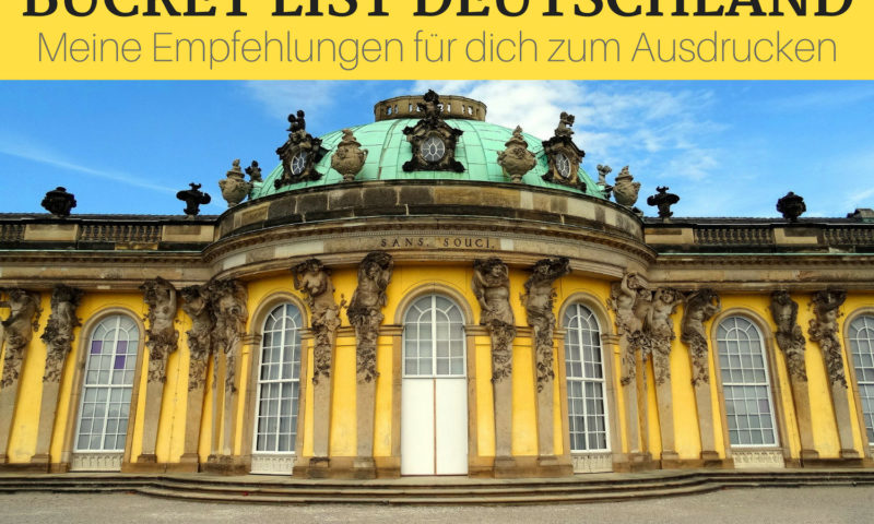 Bucket List Deutschland