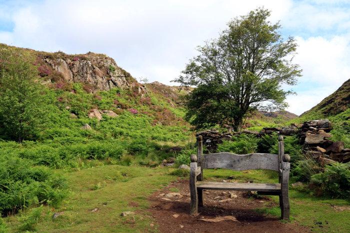 Reiseroute Wales Aberglaslyn