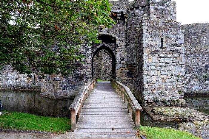 Reiseroute Wales Beaumaris Castle