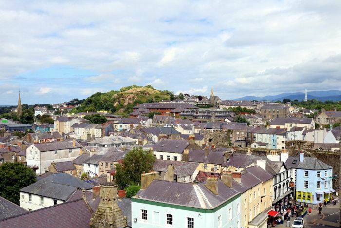 Reiseroute Wales Caernarfon
