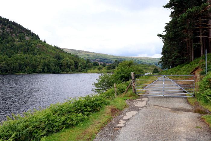 Reiseroute Wales Llyn Geirionydd