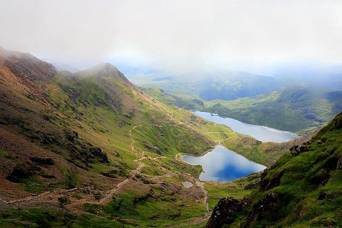 Reiseroute Wales Mount Snowdon