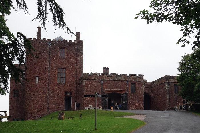 Reiseroute Wales Powis Castle
