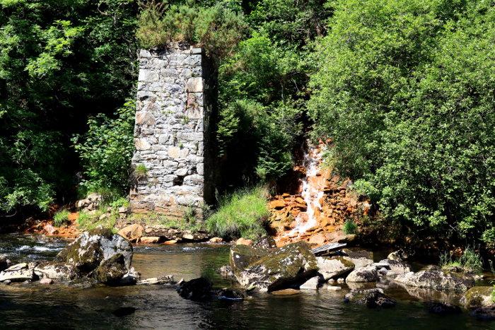 Reiseroute Wales Swallow Falls