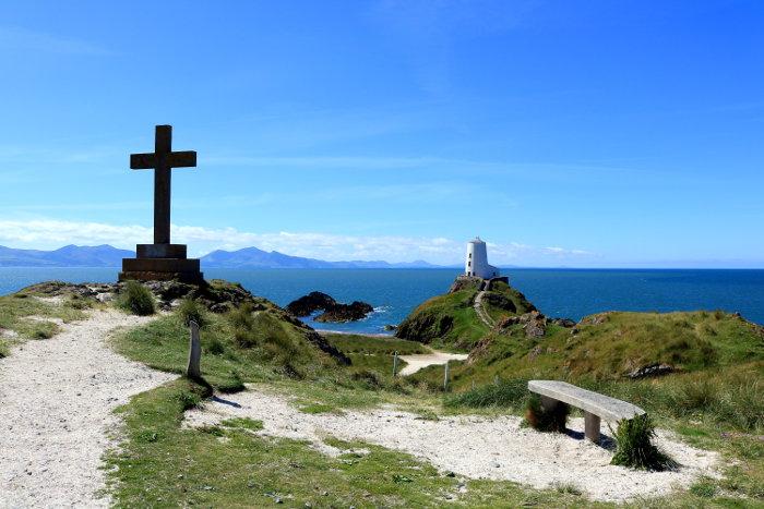 Reiseroute Wales Ynys Llanddwyn