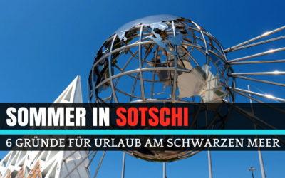 Sommer in Sotschi