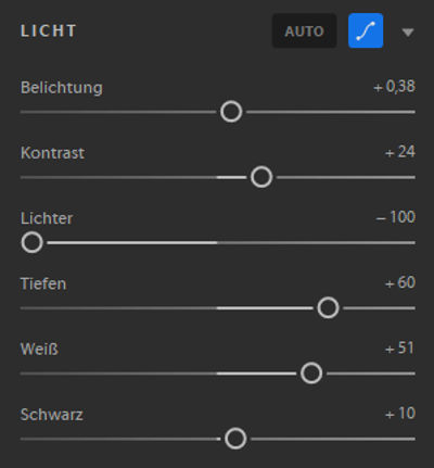 Bildbearbeitung in Adobe Lightroom