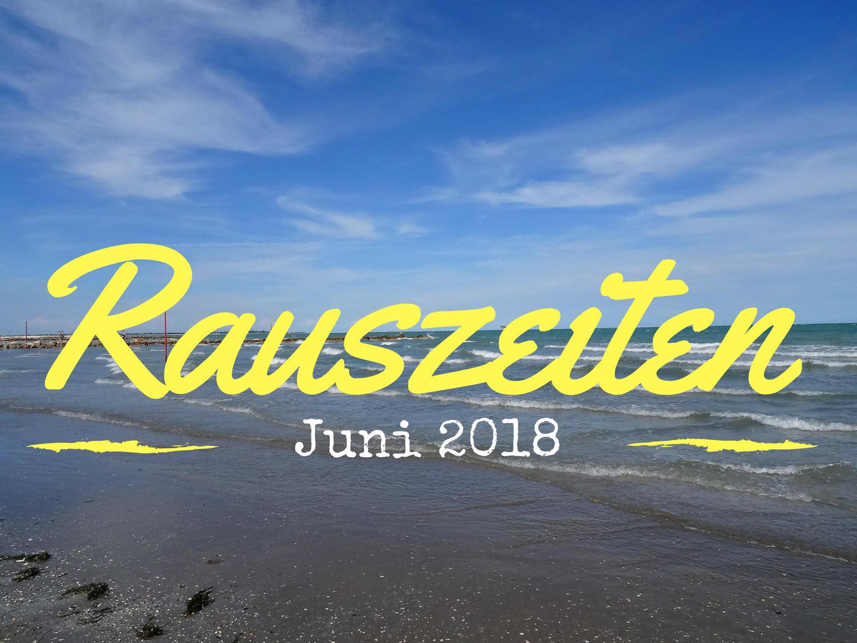 Rauszeiten im Juni 2018