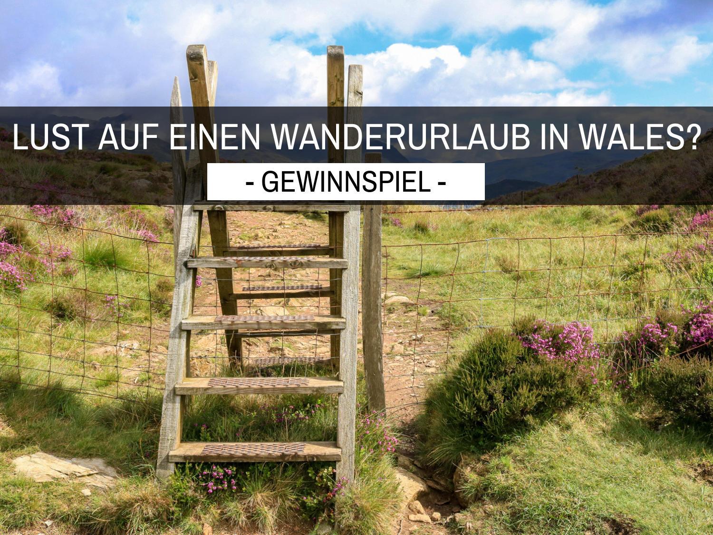Gewinnspiel: Lust auf einen Wanderurlaub in Wales?