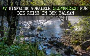 Slowenisch für die Reise